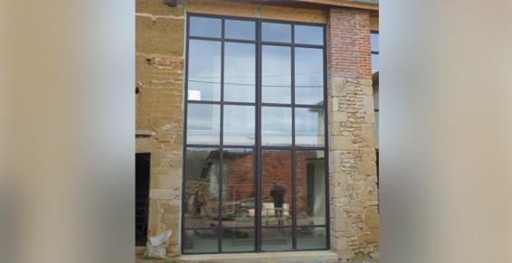 menuiserie métallique Villefranche-sur-Saône 69400